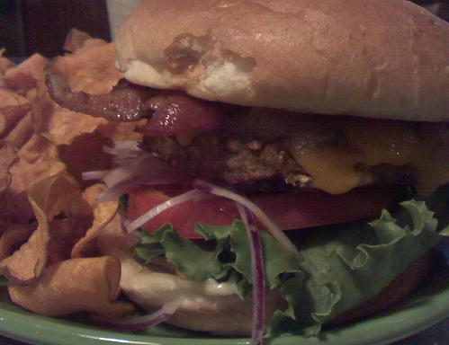 Bacon Veggie Burger